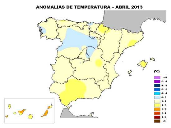 Temperaturas abril-2013