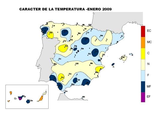 Temperatura enero 09